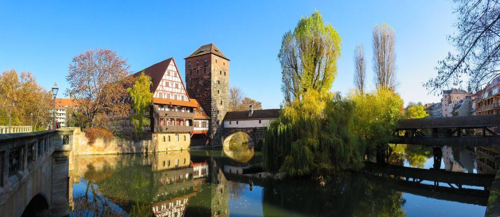 Nürnberg - Altstadt - Pegnitz - Henkerssteg